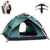 Kuppelzelte LIUSIYU Automatic Pop Up 2-3-4 Personenzelt 4 Season Anti-UV Wasserdicht Winddicht Ultralight Camping Outdoor Dome tentwith Tragetasche