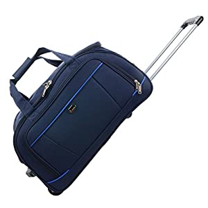 """JAM Traveller 26"""" Navy Holdall Trolley Bag Case Wheeled Travel Luggage Suitcase from JAM"""
