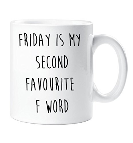 friday-is-my-second-favourite-f-word-mug-friend-gift-cup-ceramic-christmas-birthday