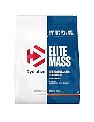 Dymatize Nutrition Elite Mass Gainer, Double Chocolate, 6-Pound from Dymatize Nutrition
