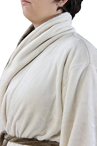 Gözze 20014–853Silk Feeling Bath Robe with Shawl Collar - 41aLLUbTzpL - Gözze 20014–853Silk Feeling Bath Robe with Shawl Collar