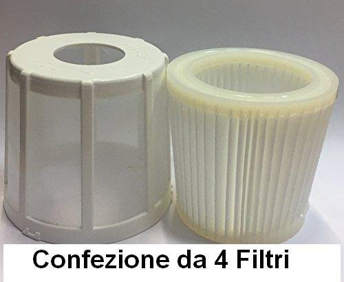 4 x IMETEC FILTRO HEPA PIUMA EXCELLENT ECO CYCLONIC