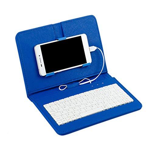 Ben-gi 4.8-6.0inch Telefon-Kasten PU-Leder-Schlag-Fall Wired Keyboard Universal-Schutz-Ersatz für Andriod - Anmerkung 3 Handy-kästen Für