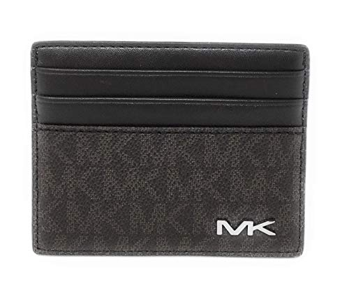 Michael Kors Cooper Tall Card Case Wallet - Slim Front Pocket Wallet -