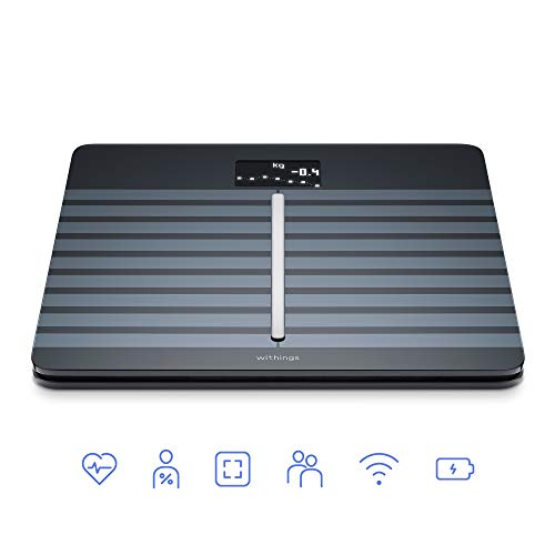 Nokia health Nokia Body Cardio - Wi-Fi Smart Scale with Body Composition & Heart Rate