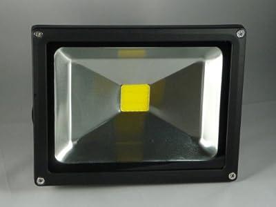 LED Außenfluter - IP65 - 30 Watt - 3.000 Kelvin Warmweiss - 2700 Lumen (ersetzt 280 - 300 Watt Halogen) von Lux-LED-Shop Eigenmarke - Lampenhans.de