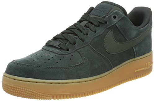 Nike Air Force 1 '07 Lv8 Suede Aa1117-30, Scarpe da Ginnastica Basse Uomo, Verde (Green Aa1117-300), 46 EU