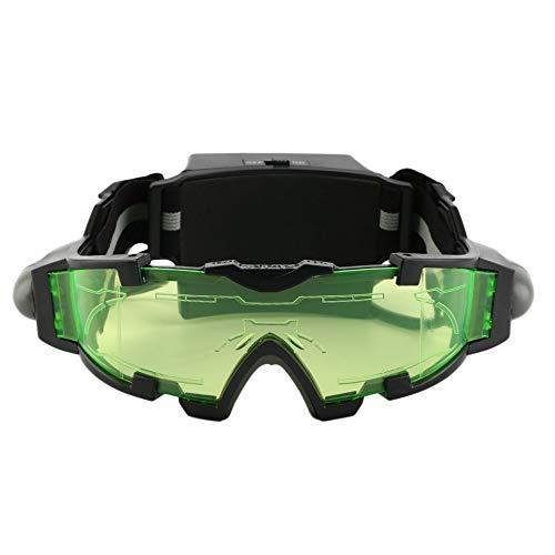 Neuheiten justierbare geführte Nachtsicht-Schutzbrillen mit Flip-Out beleuchtet den heißen Verkauf der Augenlinsen-Gläser