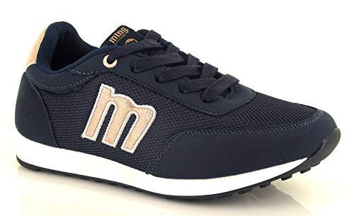 Sneakers Mujer Mustang Jogging 69194 Azul Talla 38