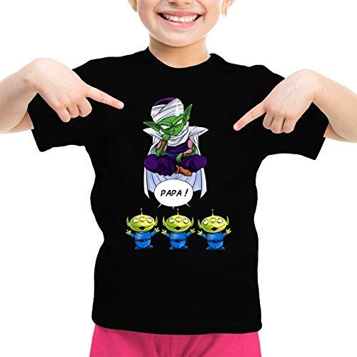 T-Shirts Dragon Ball Z - Toy Story parodique Piccolo aka Satan Petit Coeur Les Aliens : Papa !! (Parodie Dragon Ball Z - Toy Story)