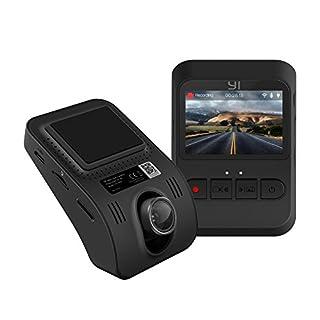 YI Mini DashCam 1080p Auto Kamera Full HD Dash Camera Auto mit Nachtsicht, Notfallaufnahme, G-Sensor, 2.0 Zoll LCD Display, App kompatibel mit iOS und Android (z.B. Apple, Samsung, Huawei)