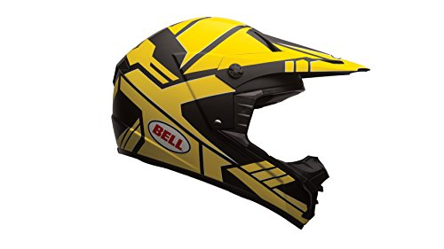 1 Motorradhelm, Mehrfarbig (Stack Charcoal/Gelb), XXL ()
