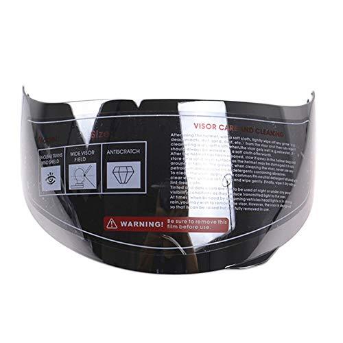 Iridiumvisier, passend für AGV K3 SV K5 316 902 Anti-Kratzer Helm Visier Shield Motorrad D7 J7 Free Size silber