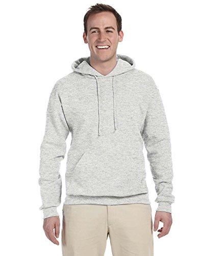 Adult 8 oz. NuBlend� Fleece Pullover Hood ASH 3XL - Ash Grau Kapuzen-sweatshirt