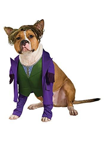Joker Kostüm Batman TDK Hund (Rubies Batman Kostüm Hunde)