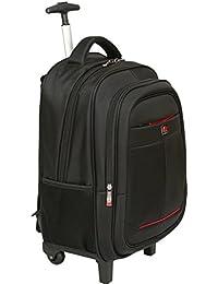 City Bag - Mochila híbrida con Mango telescópico y Ruedas - para portátil  de hasta 15 ebda30c46f4f9