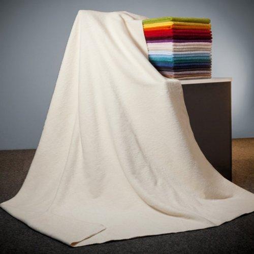Richter Decke aus 100 % Bio-Baumwolle 150x200 cm, natur