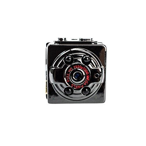 Kobert-Goods Full HD Mini-DV-Kamera K84 Spy-Cam 1080-P für Video- und Fotoaufnahmen inkl. Ton - Kleine, Tragbare Überwachungskamera mit Bewegungserkennung & Infrarot-Nachtsicht (inkl. Halter) Video-aufzeichnung Dv-uhr