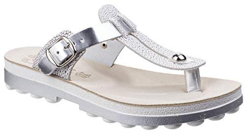 6343689499e61 Fantasy Womens/Ladies Mirabella Buckle Up Flip Flop Summer Sandals