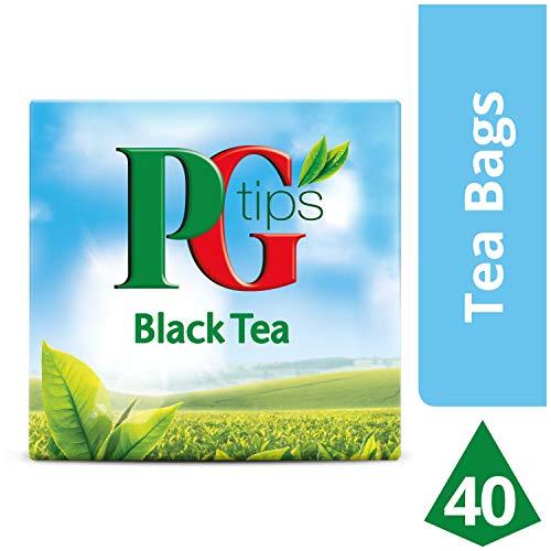 PG Tips Schwarzer Tee, 1er Pack (1 x 116g)