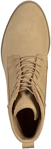 Tamaris Lace Up TOUCH IT suola e tacco AntiShokk Blu 1-25115-27 805 Navy Beige(Sand)