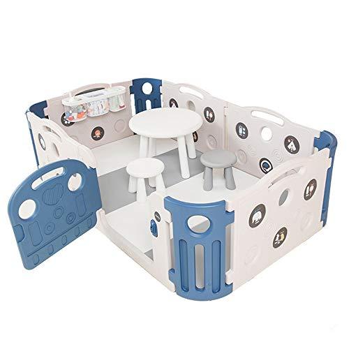 Barrières de lit LHA Baby Play Fence Jeux pour Enfants Sécurité à la Maison à l'intérieur Infant Toddler Guardrail
