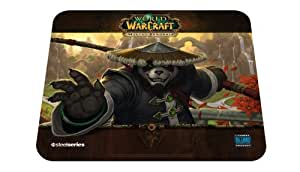 SteelSeries World of Warcraft QcK Gaming Mouse Pad - Panda Monk Edition Edition: Panda Monk
