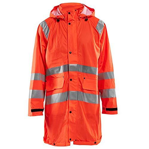 BLAKLADER Manteau de Pluie imperméable Haute visibilité