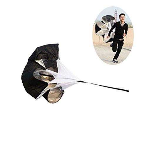 WINOMO Resistance Parachute Speed Training Rutsche Drag Parachute mit verstellbarem Strap für Sprint Running Football Training (Running Chute)