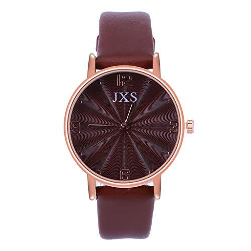 XZDCDJ Damen Uhr Armbanduhr Bracelet Jungen Uhr Kinder Mädchen Mode Bunte Armband arabische Nummer Sport Quarz Armbanduhr FeaturKaffee473 -