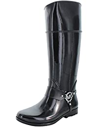 Michael Kors Bottes En Caoutchouc Fulton Harness Tall Rainboot
