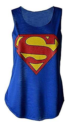 Debardeur Xl - MyMixTrendz - Culture Superman Batman Femmes Top