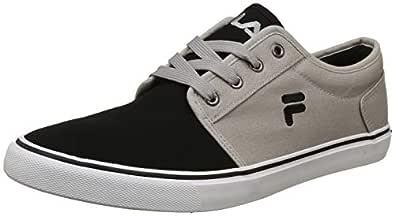 Fila Men's Clip Lt Gry MRL/Blk Sneakers-10 UK/India (44 EU) (11006491)