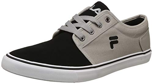 Fila Men's Clip Lt Gry MRL/Blk Sneakers-9 UK/India (43 EU) (11006491)