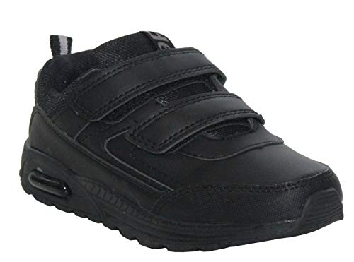 Dek Kids Junior Touch Fastening Sports Back to School Trainers Shoes