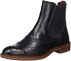 Marc O'Polo Damen Chelsea Boot, Schwarz (Black), 39 EU