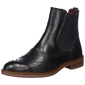 Marc O'Polo Damen Chelsea Boots, Schwarz