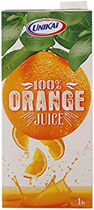 Unikai Orange Juice In Tetra Pack, 1 Litre