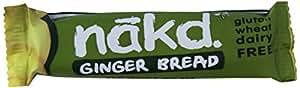 Nakd Ginger Bread Raw Bar 35 g (Pack of 18)