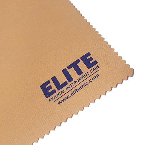 Elite Mic-imprägniert Reinigungstuch zur Reinigung und Glanz-Blasinstrumente Metall