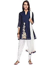 Kashish By Shoppers Stop Womens Embroidered Dhoti Suit