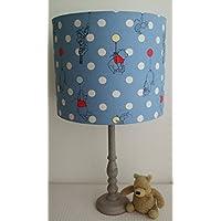 Cath Kidston Winnie The Pooh Balloon Spot - Handmade Nursery Ceiling Lampshade 30cm Drum