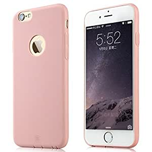 Colorful TPU Protective Case for Iphone 6(pink)