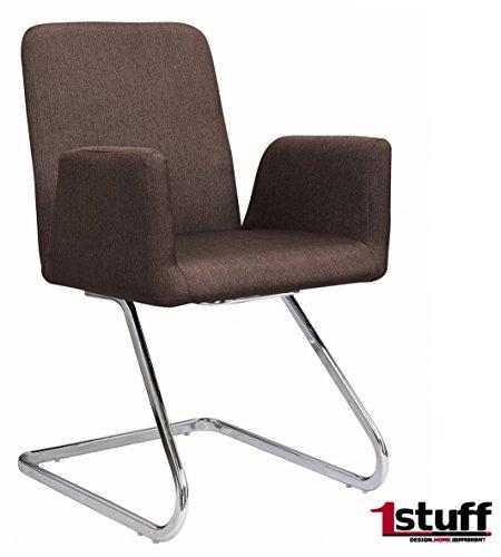 Designer Polsterstuhl RETRO von 1stuff - retro-braun