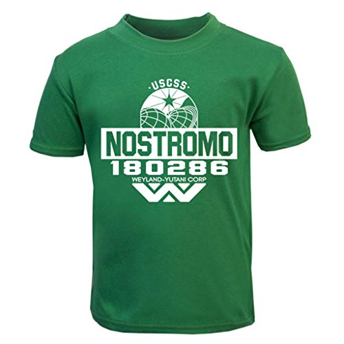 USCSS Nostromo Weyland Yutani Corp Alien Baby and Toddler Short Sleeve T-Shirt