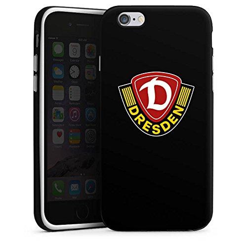 Apple iPhone X Silikon Hülle Case Schutzhülle Dynamo Dresden Fanartikel Bundesliga Silikon Case schwarz / weiß