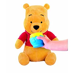 "[Move to the nose, moving the ear, shake your body, sing, play the stomach] can enjoy the look stuffed various ""Winnie the Pooh hungry"" Pooh [Fisher-Price] Rumbly Tummy Winnie the Pooh educational for children It is recommended for. (japan import)"