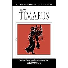Timaeus (Focus Philosophical Library)