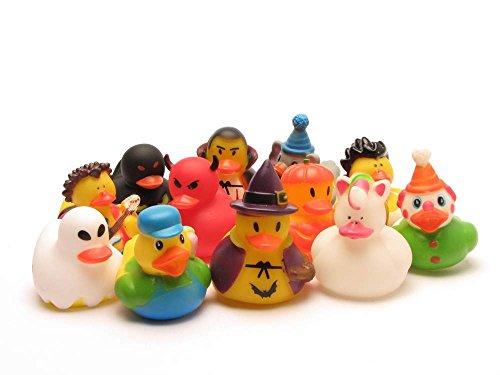 12 canards en caoutchouc