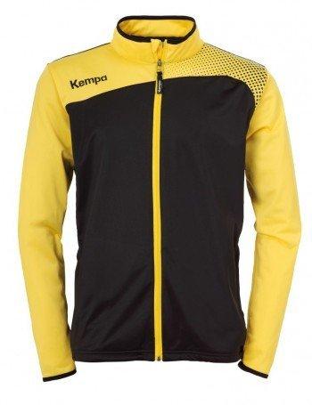 FanSport24 Kempa Emotion Classic Jacke, Kinder, schwarz/gelb Größe XXS